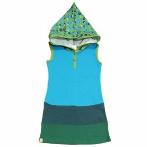 Kleid mit Kapuze
