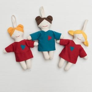 Puppe Lina / Überraschungspuppe