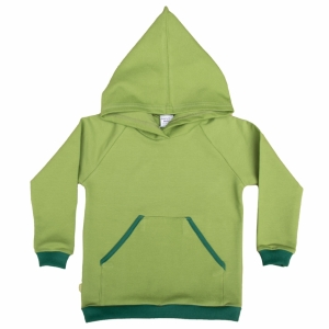 Hooded sweater with pockets