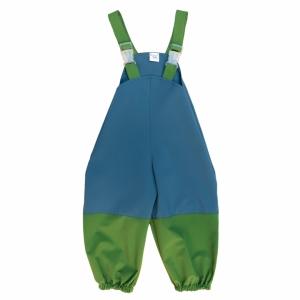 Slush pants with straps and stripes