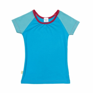 Raglan T-shirt for girls