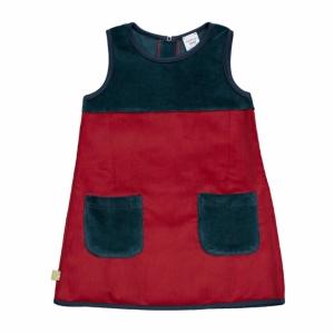Kleid mit Taschen