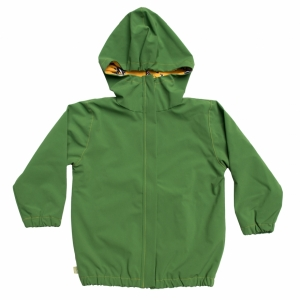 rainjacket with hood and inner lining