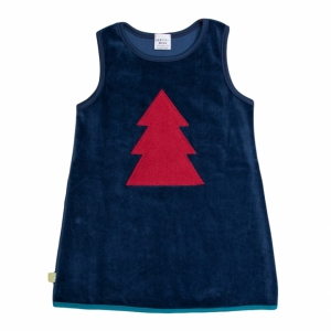 dress with tree application