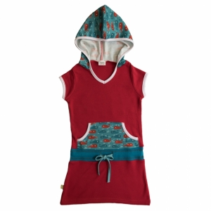 Dress with Hoodie