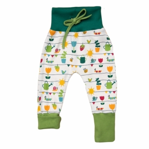 with growing romper pants