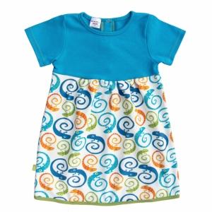 Dress short-sleeved