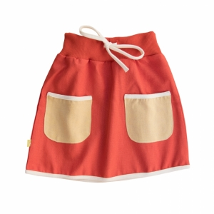 Skirt with bags