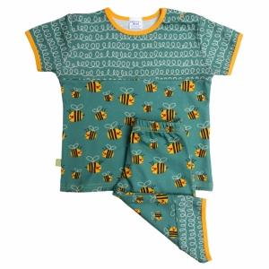 Pyjama kurzarm, 3/4 Hose