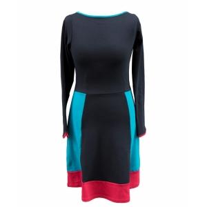 Kleid geteilt